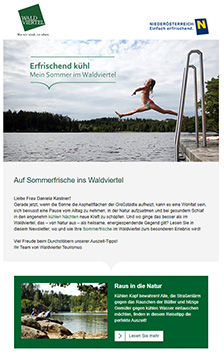 Newsletter Waldviertel
